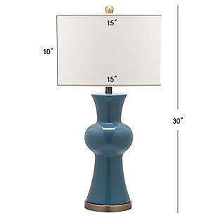 Ceramic Lamp (Set of 2), Teal, large
