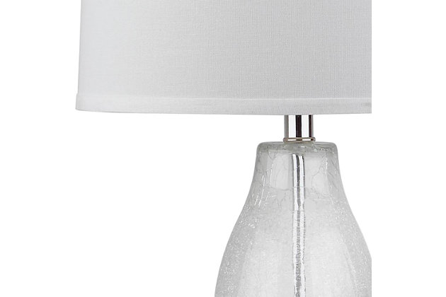 Double Gourd Lamp (Set of 2), Crackle/Clear, large