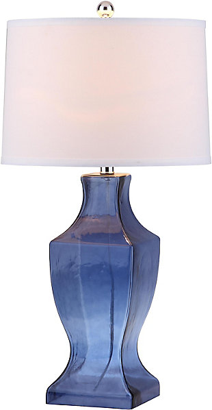 Urn Shaped Glass Bottom Lamp (Set of 2), , rollover
