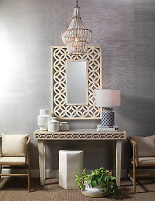 Home Accents Natural Beaded Chandelier, , rollover