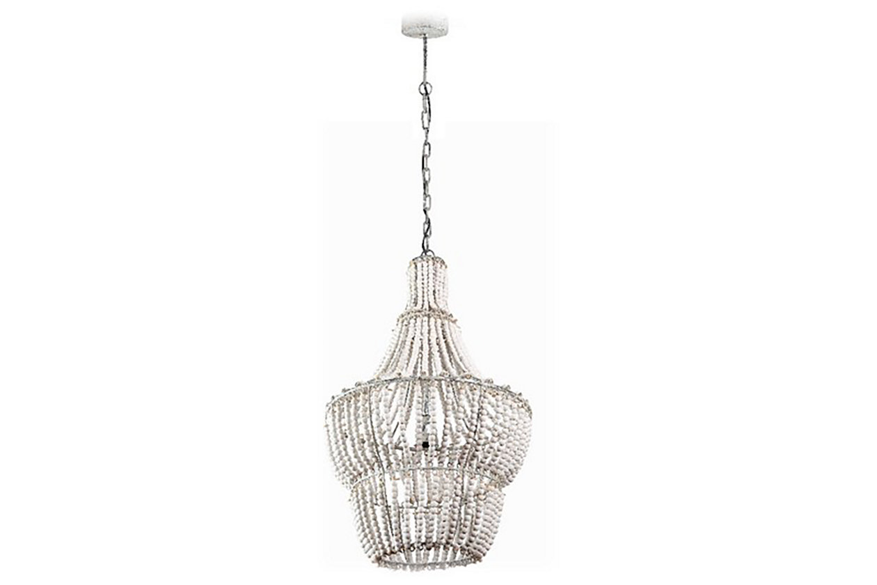Chandeliers elegant lighting ashley furniture homestore home accents natural beaded chandelier arubaitofo Gallery