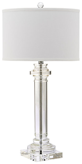 Crystal Column Table Lamp, , large
