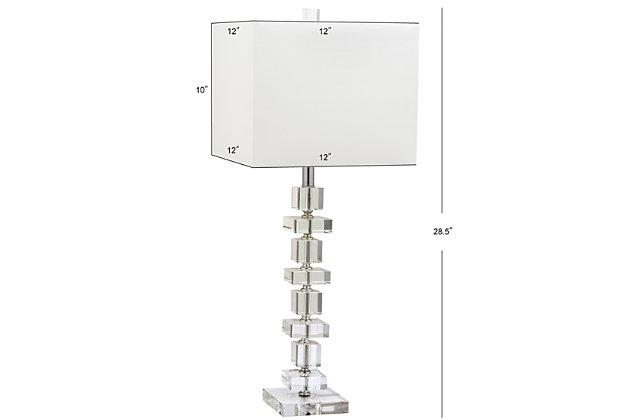Geometric Crystal Table Lamp (Set of 2), , large