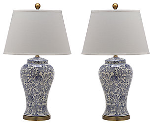Spring Blossom Table Lamp (Set of 2), , large