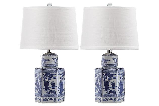 Ceramic Table Lamp (Set of 2), , large