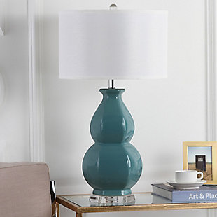 Gourd Shaped Table Lamp, Egg Blue, rollover
