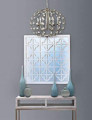 Home Accents Crystal Drop Chandelier, , rollover