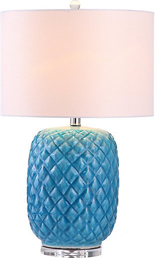 Ceramic Pineapple Shaped Table Lamp, , rollover