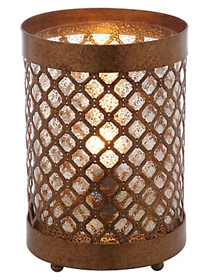Metal Hurricane Lamp (Set of 2), , rollover