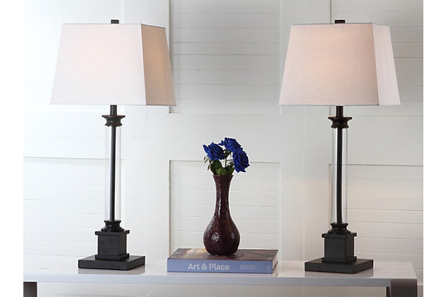 Acrylic Table Lamp (Set of 2), , large