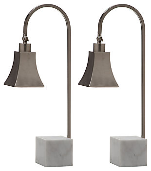 Marble Base Desk Lamp (Set of 2), , large