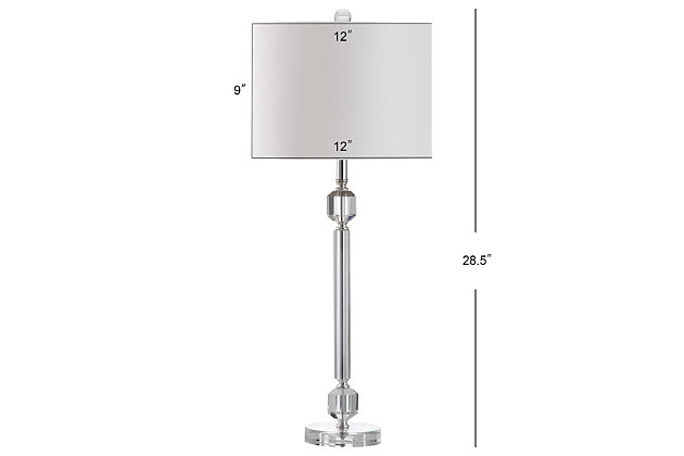 Crystal Prism Table Lamp (Set of 2), , large