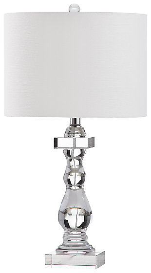 Crystal Base Table Lamp, , large