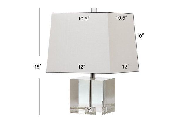 Crystal Table Lamp, , large
