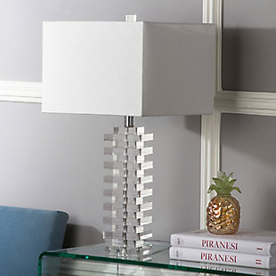 Geometric Crystal Swift Table Lamp, , rollover
