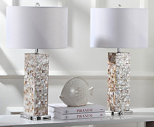 Shell Table Lamp (Set of 2), , rollover