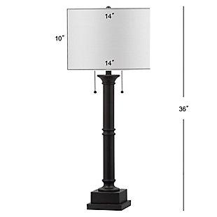 Metal Column Table Lamp (Set of 2), , large