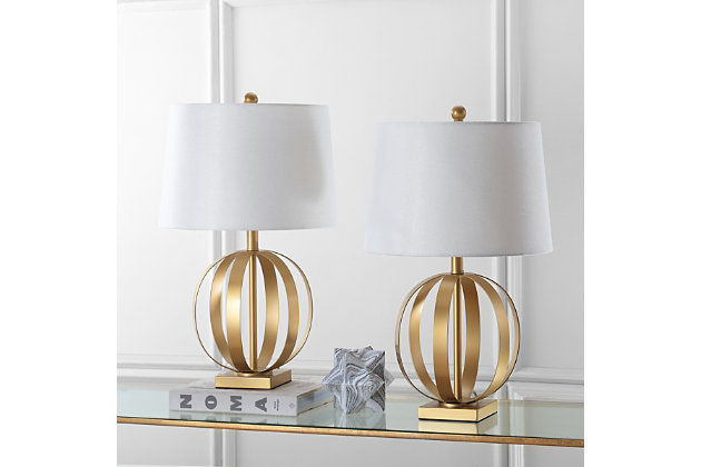 Sphere Shaped Euginia Table Lamp (Set of 2), , large