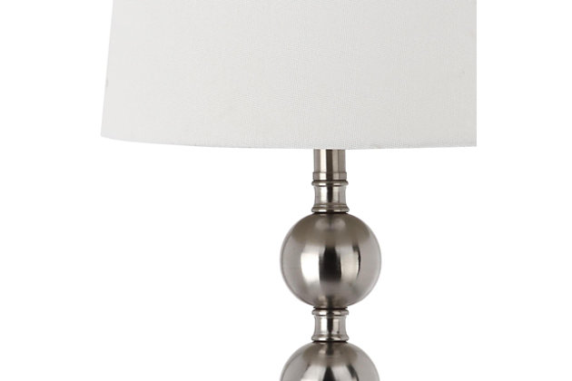 Metal Stacked Ball Table Lamp (Set of 2), , large