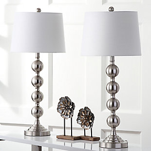 Metal Stacked Ball Table Lamp (Set of 2), , rollover