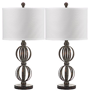Sphere Shaped Calista Table Lamp (Set of 2), , large