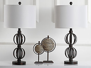Sphere Shaped Calista Table Lamp (Set of 2), , rollover