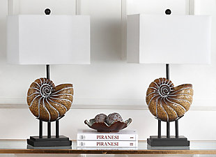 Shell Shaped Table Lamp (Set of 2), , rollover