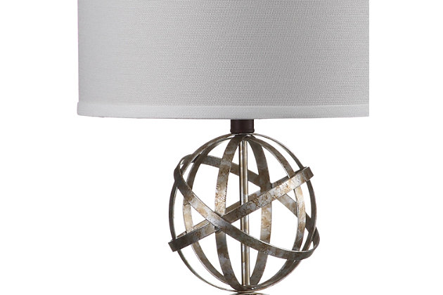 Double Sphere Shaped Table Lamp (Set of 2), , large