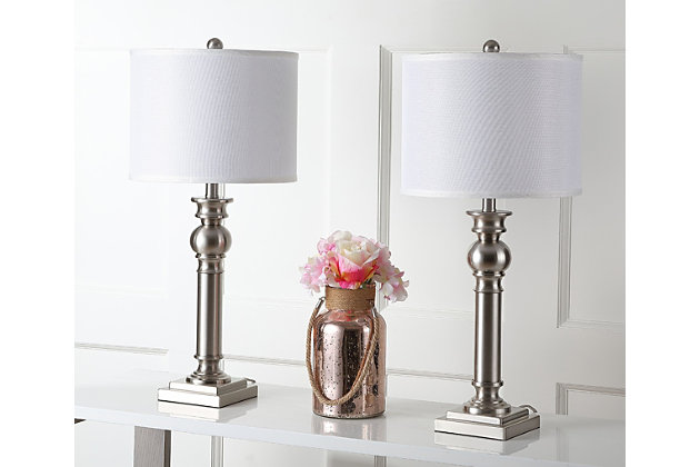 Classic Column Table Lamp (Set of 2), , large