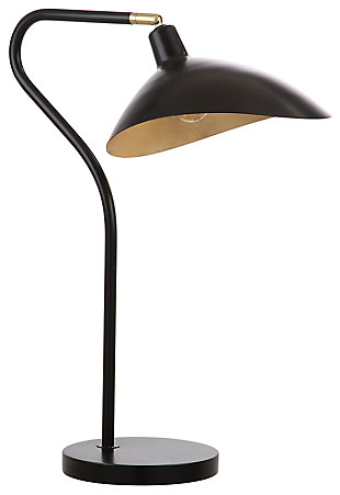 Adjustable Contemporary Table Lamp, , large