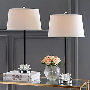 Crystal Base Table Lamp (Set of 2), , large
