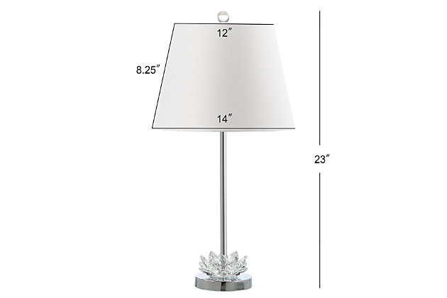 Crystal Base Table Lamp (Set of 2), , large