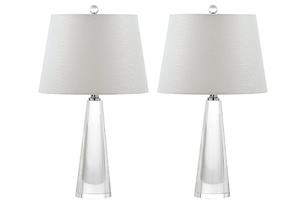 Glass Gladys Table Lamp (Set of 2), , large
