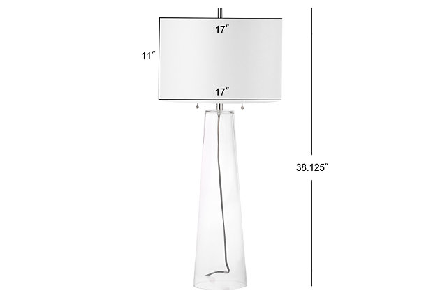 Glass Table Lamp (Set of 2), , large