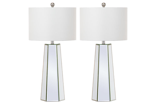 Mirrored Table Lamp (Set of 2), , large