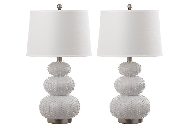 Textured Table Lamp (Set of 2), , large