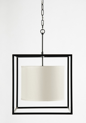 Ashley Accents Cage Pendant Light Home