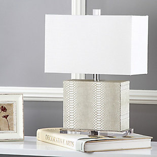 Faux Snakeskin Table Lamp, , rollover