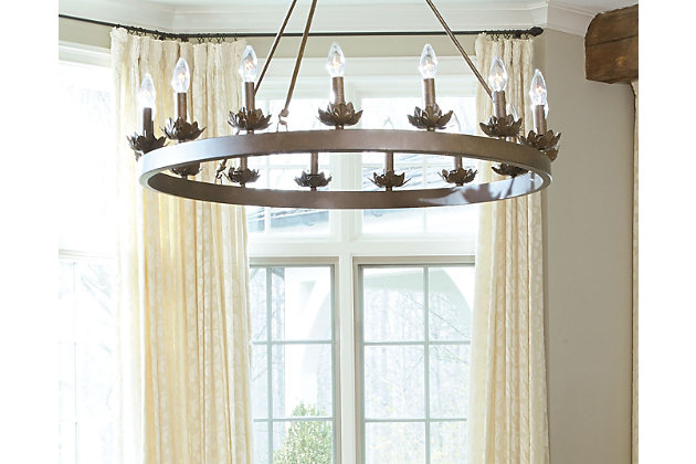 Home Accents 15-Light Ring Chandelier, , large