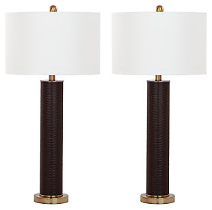 Faux Snakeskin Table Lamp (Set of 2), , large