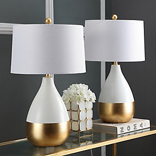 Metal Two Toned Table Lamp (Set of 2), , rollover