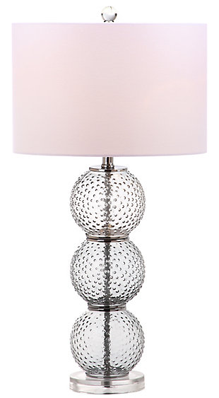 Textured Glass Table Lamp (Set of 2), , rollover