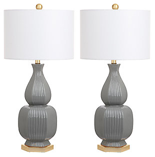 Textured Ceramic Table Lamp (Set of 2), , large
