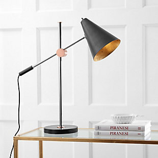 Metal Table Lamp, Black, large