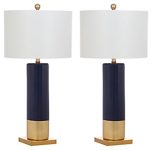 Ceramic Two Toned Table Lamp (Set of 2), , large