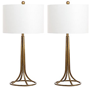 Antique Bronze Finished Table Lamp (Set of 2), , rollover