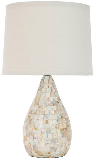Shell Gourd Shaped Table Lamp, , rollover