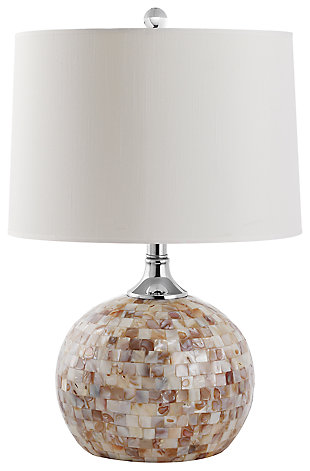 Shell Gourd Shaped Table Lamp, , large
