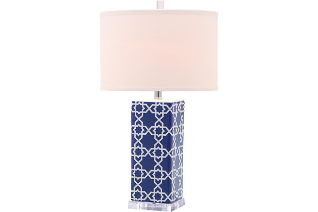 Patterned Table Lamp, , large