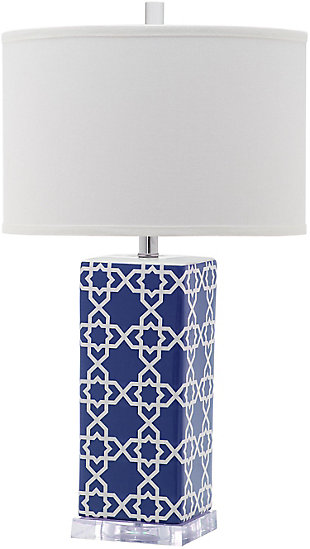 Patterned Table Lamp, , rollover